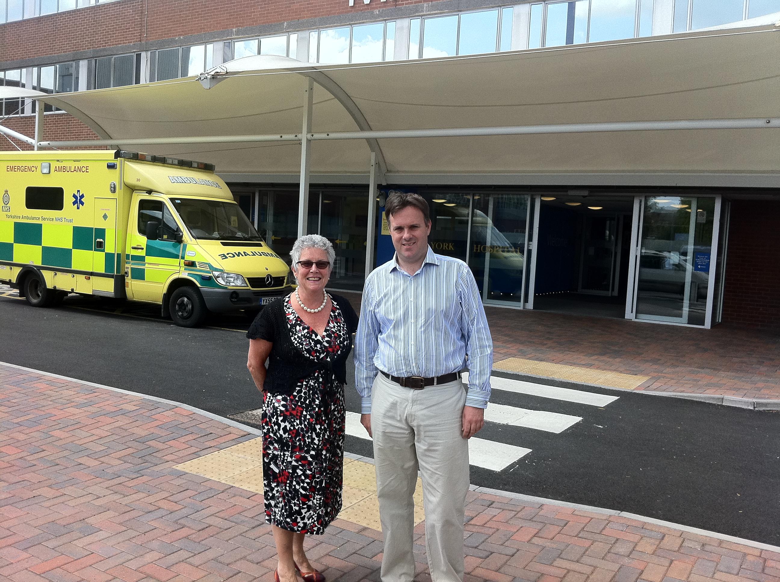Outside York Hospital